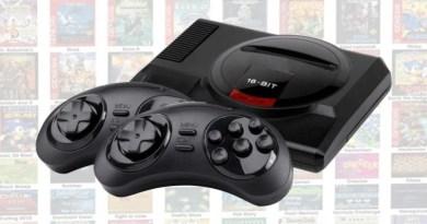Megadrive Mini console retro jeux