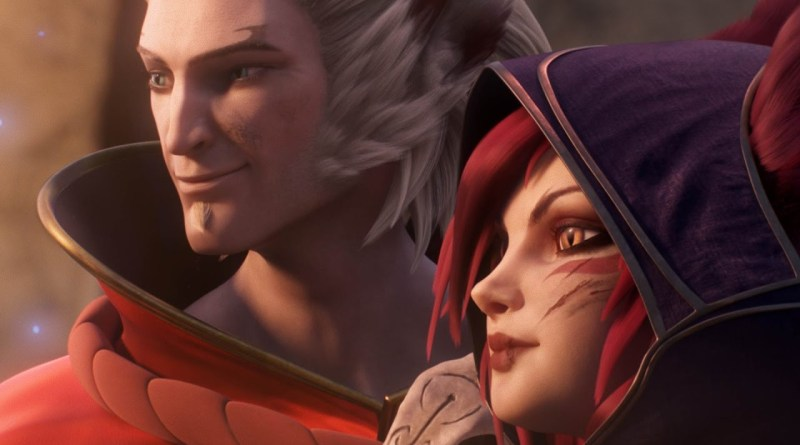 League of legend lol xayah rakan champion new heroes summoners rift rakan et xayah