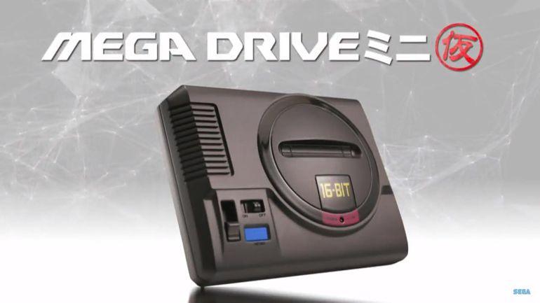 La Sega Megadrive mini annoncée !