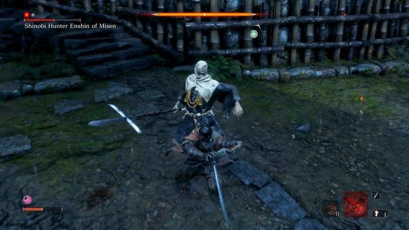 sekiro shadows die twice soluce boss mini boss chasseur shinobi