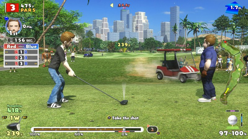 everybody's golf vr, test, avis, immerion ,simulation de golf, ps4