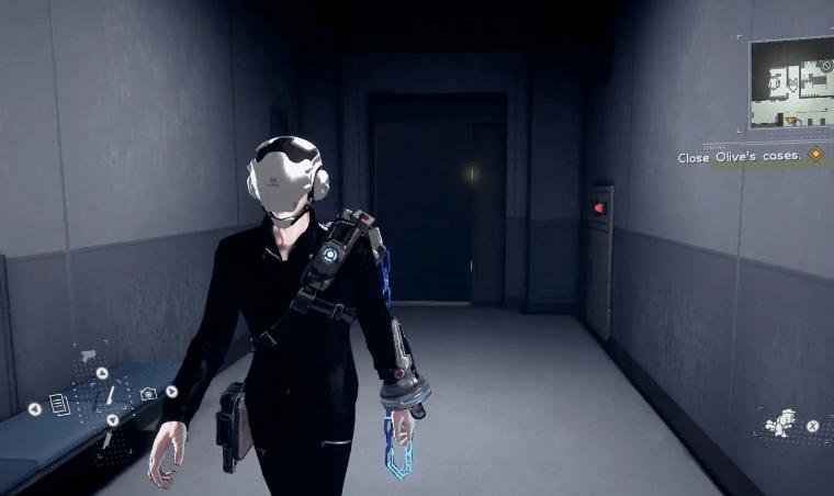 Astral chain Casque de police (Helmet), soluce costume et accessoires