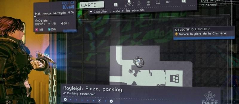 Astral chain, emplacement des toilettes fichier 02, toile cirée soluce, localisation
