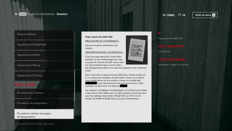 control soluce easter egg ps4 xbox pc secret alan wake 8