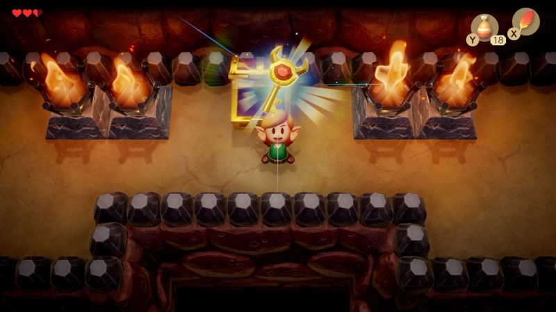 zelda link awakening switch soluce fr cave flagello