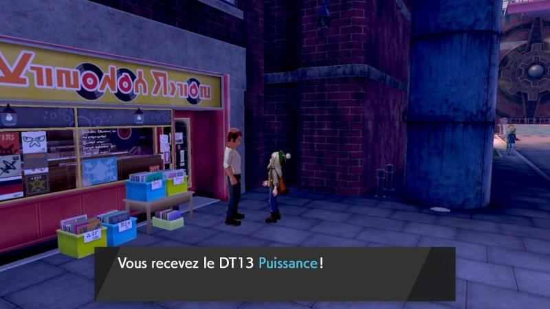 Solution pokemon épée et bouclier ville de motorby emplacement poke ball DT13