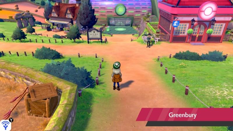 soluce, route 4 pokemon épée et bouclier, solution emplacement pokemon et liste objets greenbury