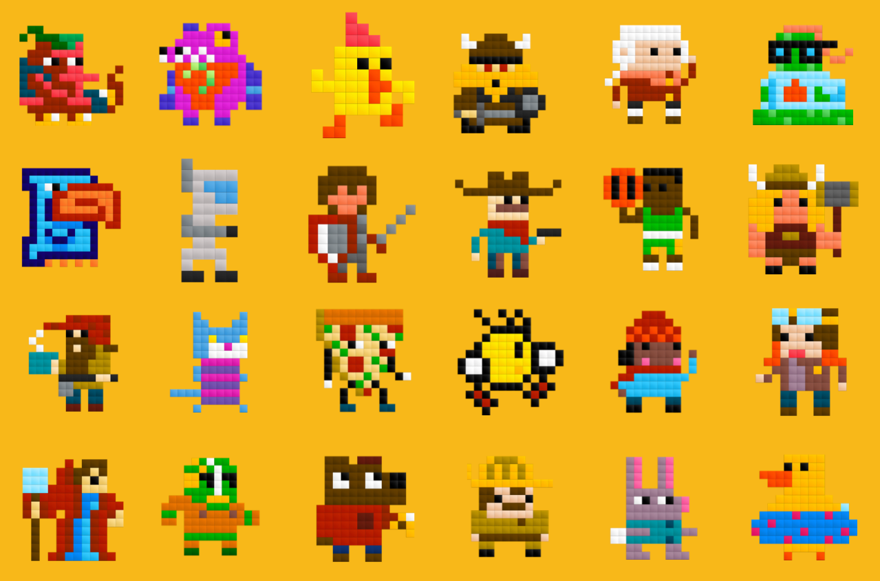 pixel art Archives - GAME ANIM