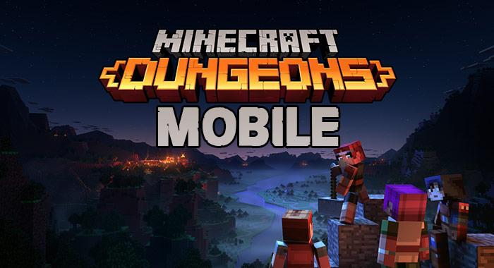 Minecraft Dungeons Mobile Apk Download Gameapkbase Com