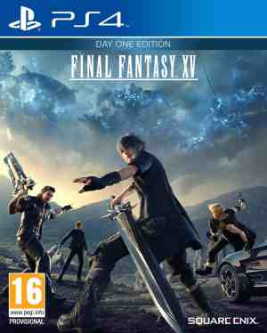 Final Fantasy XV cover 1