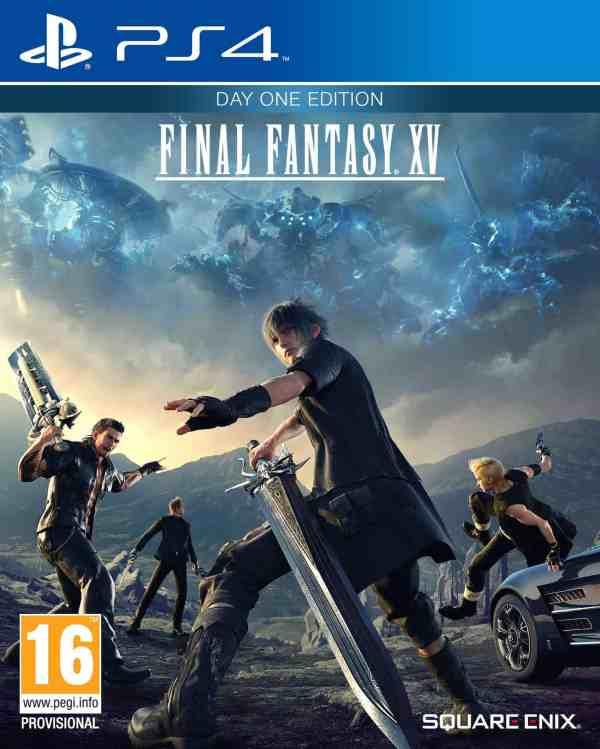 Final Fantasy XV cover 1