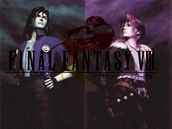 Final Fantasy VIII laguna squall