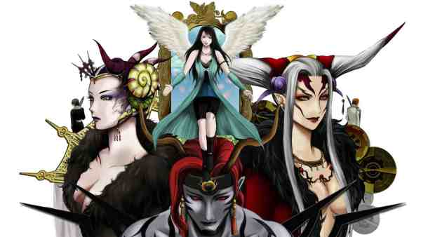 Final Fantasy VIII streghe