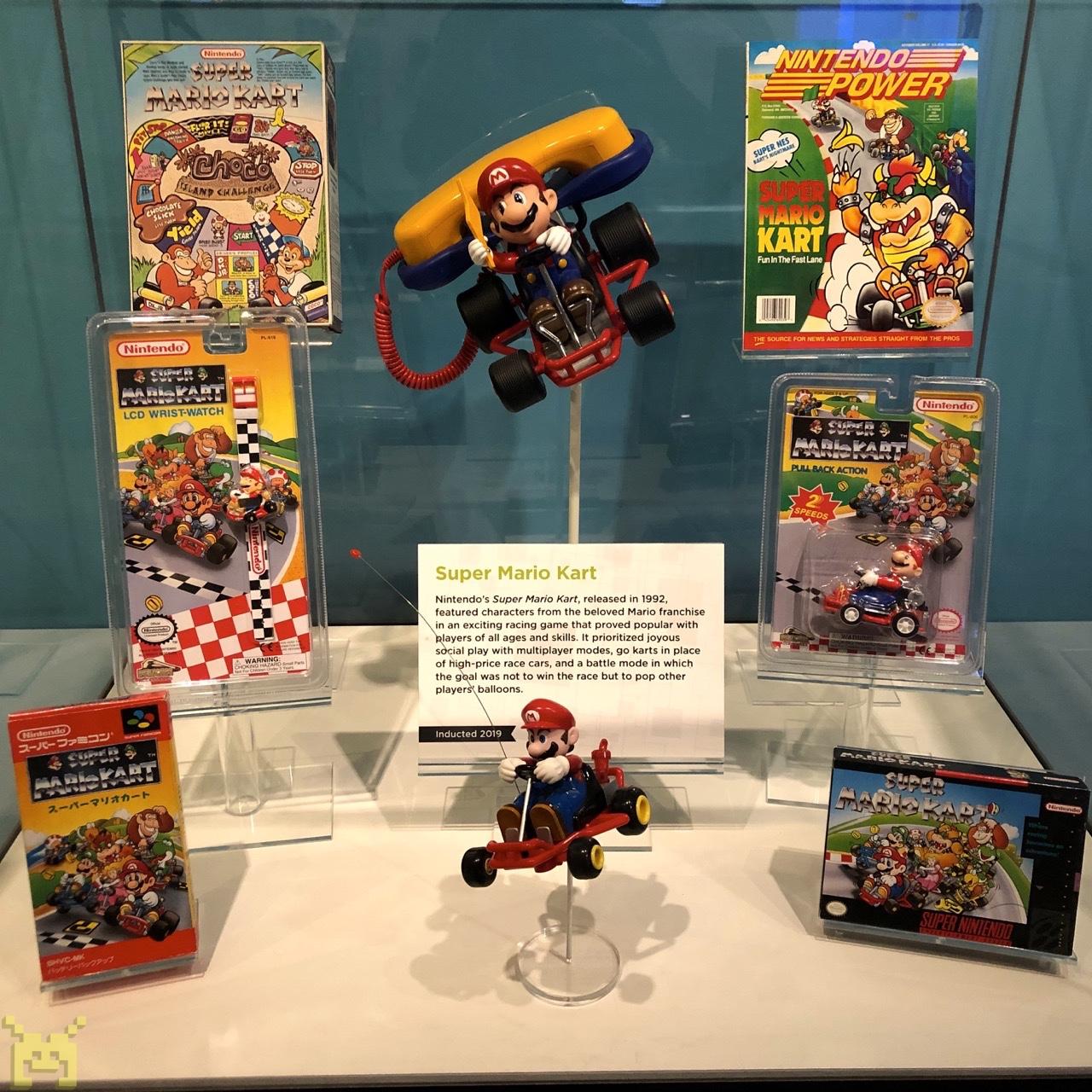 Mario Kart display