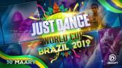 De Just Dance World Cup finale vindt plaats in Brazilië op 30 maart