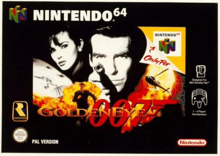 Goldeneye N64 art