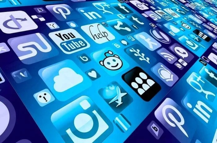 stock image of apps