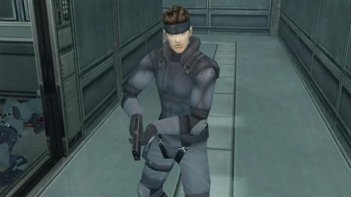 Snake in MGS