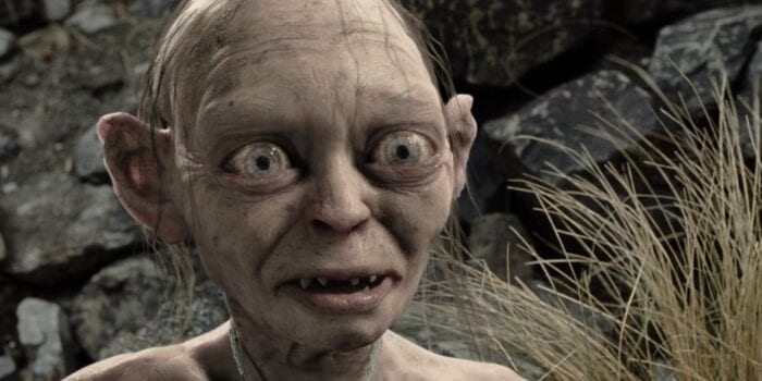 Gollum in Lord of the Ring