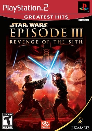 revenge of the sith game