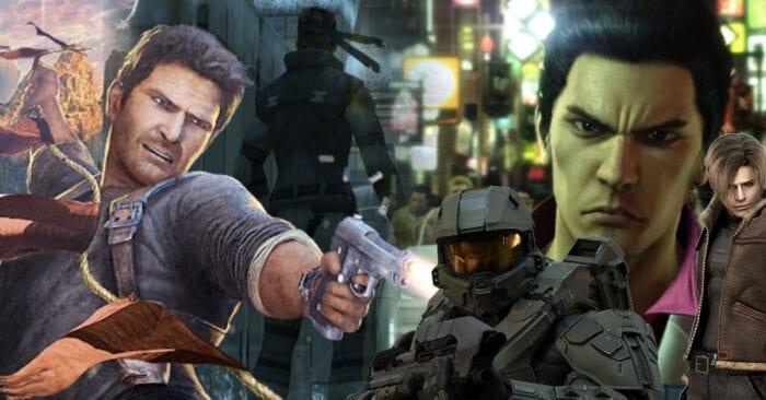 male heroes of games