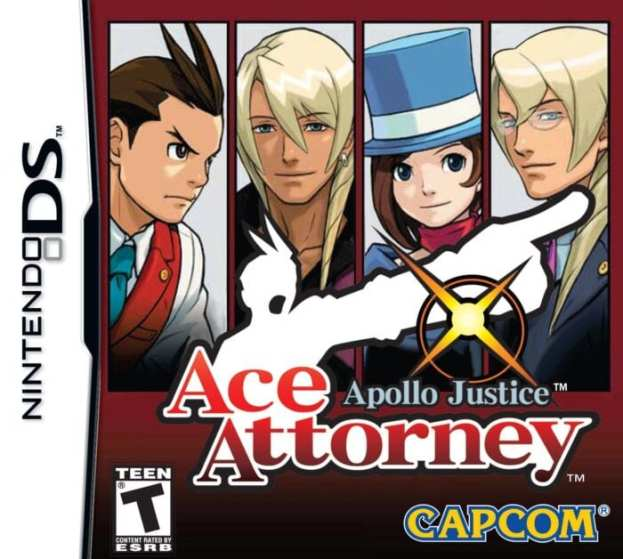 ace attorney ds