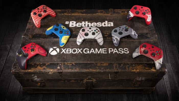 microsoft bethesda controller giveaway