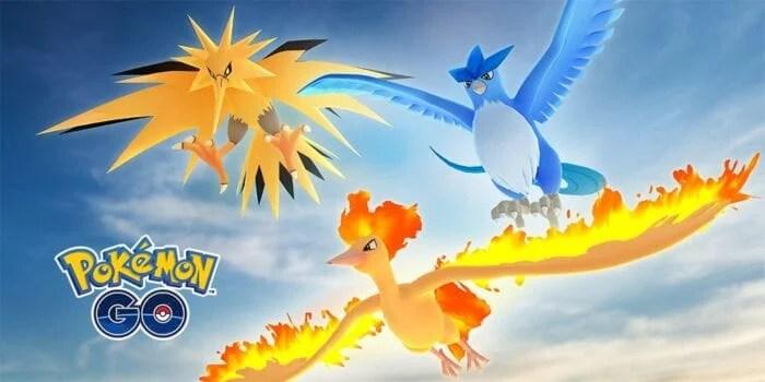 pokemon go legendary