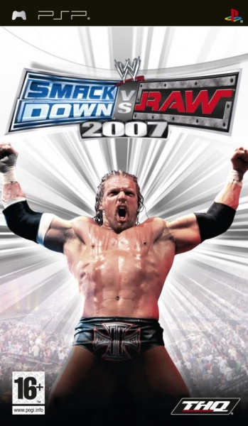 Wwe Smackdown Vs Raw 2007 PSP Jeux Occasion Pas Cher