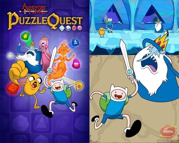 Adventure Time Puzzle Quest enemies