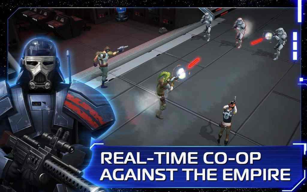 Star Wars Uprising attack