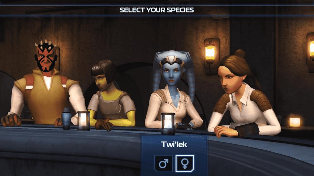 Star Wars Uprising crew