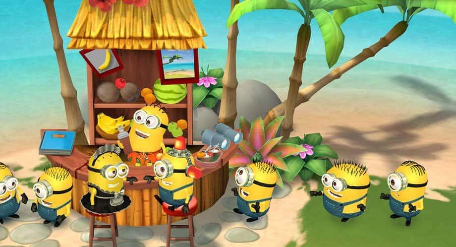Minions Paradise rescue