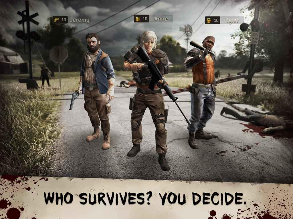The Walking Dead No Man's Land classes