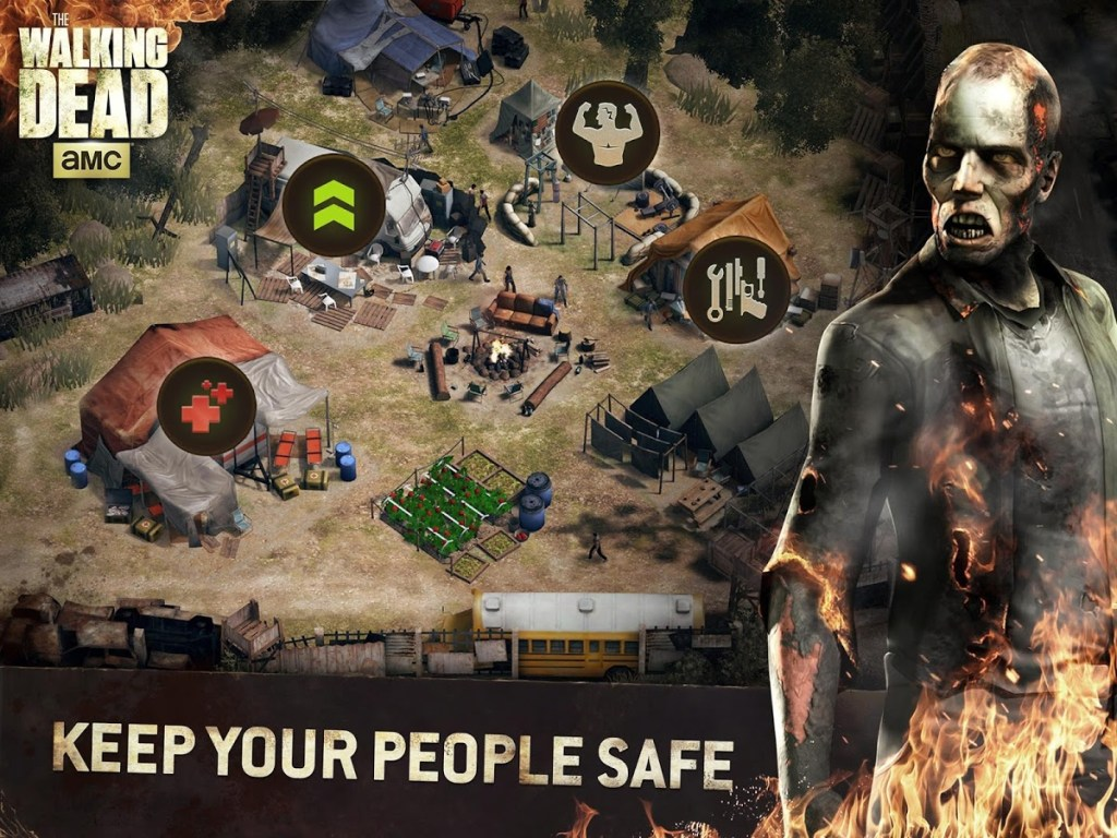 The Walking Dead No Man's Land keep safe