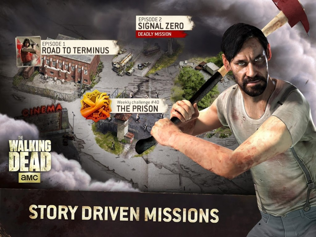 The Walking Dead No Man's Land missions