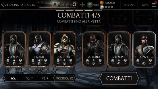 Mortal Kombat X fight chracters