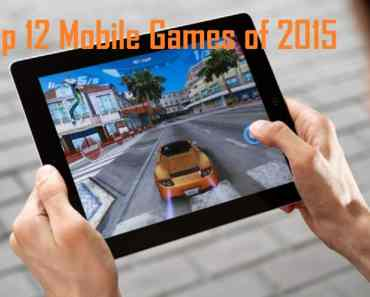 Top 12 best Mobile Games of 2015