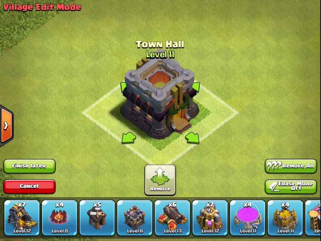 clash of clans Town Hall out in the Cold