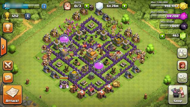 clash of clans layout 3
