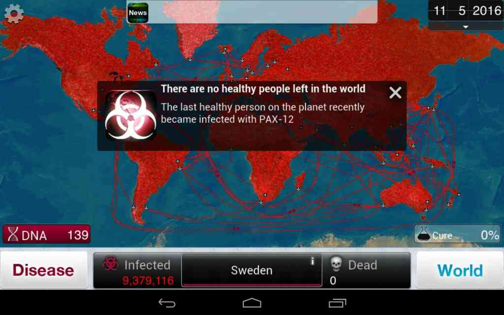 Plague Inc kill people