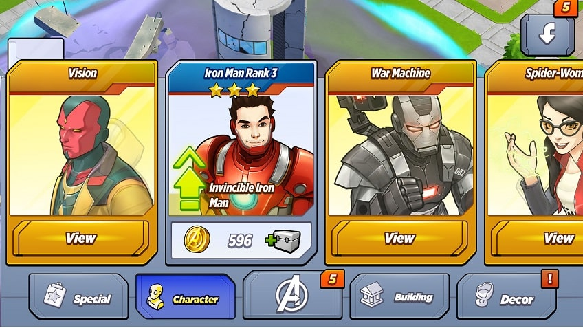 MARVEL Avengers Academy characters