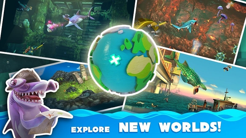 download Hungry Shark World free