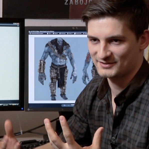 Paweł Mielniczuk, Lead Character Artist (The Witcher 3)