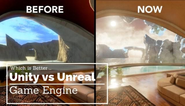 unity vs unreal game engine