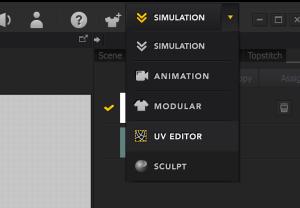 UV Editor - Marvelous Designer
