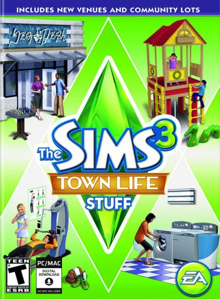 Sims 3 Town Life Stuff PCMac Download Official Full Game