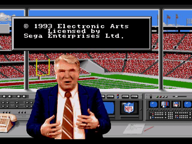 John Madden NFL 94 Download Game GameFabrique