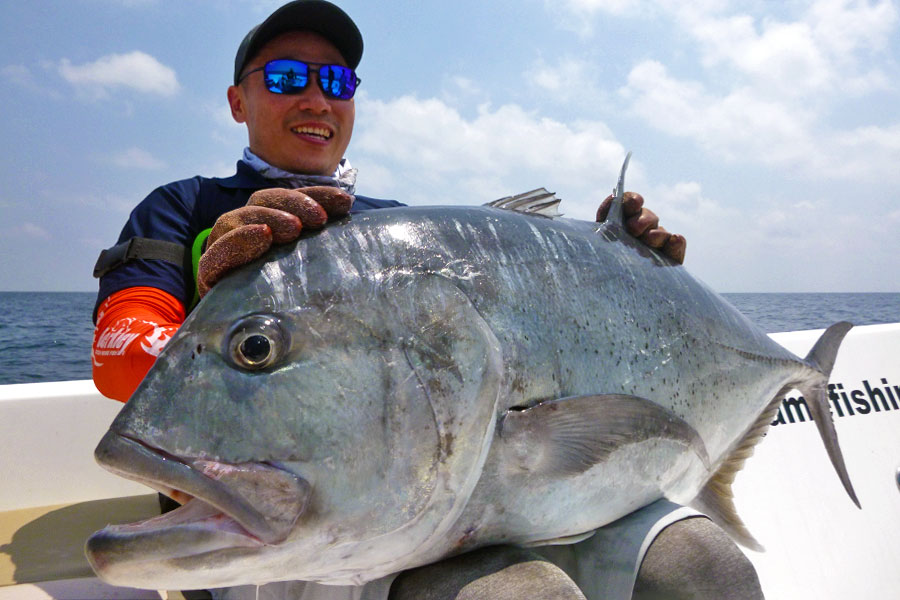 giant-trevally_popping_andaman_caprenter-monster-hunter-rod_shimano-stella-14000-reel_sam