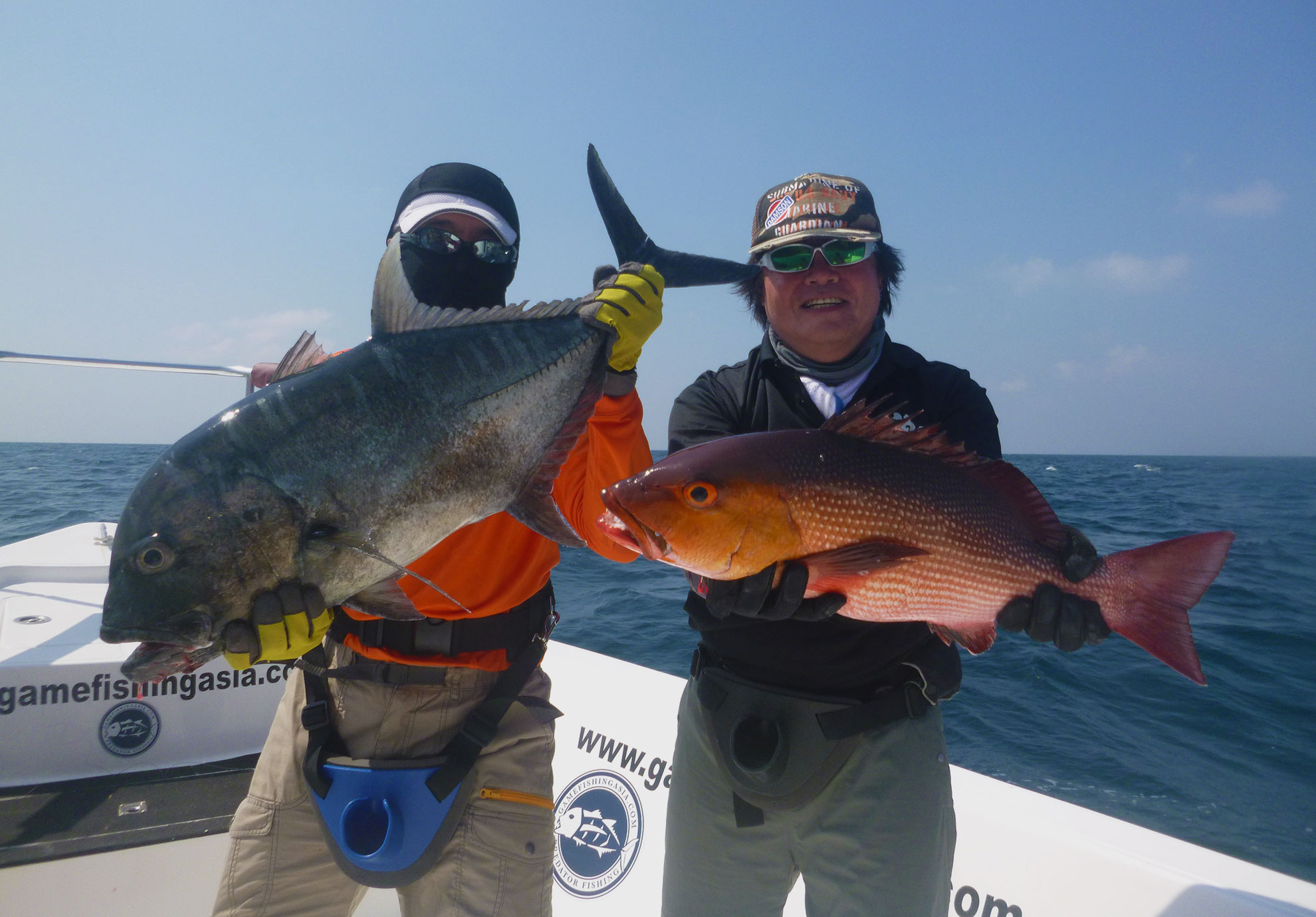 No.8_Giant-trevally_Bohar_snapper_double-hookup_fishing_popping_andaman_shimano-stella_gamefishingasia_boat_big-fish_gtpopping_boat-charter